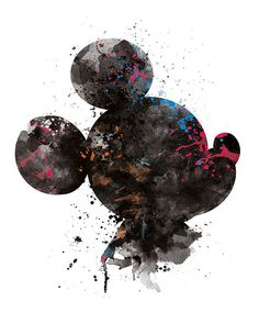 Mickey Mouse Kunst Mickey Head Aquarell Disney Poster Kunst – Home office wallpaper Mickey Mouse Wallpaper Iphone, Cute Disney Wallpaper, Cute Cartoon Wallpapers, Wallpaper Iphone Cute, Cool Wallpapers For Laptop, Disney Mickey Mouse, Arte Do Mickey Mouse, Mickey Head, Minnie Mouse