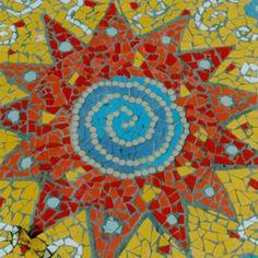 Public Art Registry. Mosaic sun