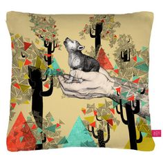 Found You there Cushion, 29,50€, now featured on Fab.