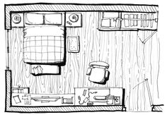 How to Arrange Furniture in Your Bedroom - Draw it Out