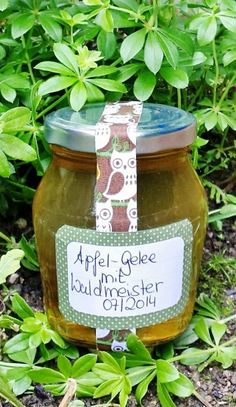 Chutneys, Sweet Woodruff, Mason Jar Wine Glass, Preserves, Jelly, Food And Drink, Delicate, Sweets, Canning