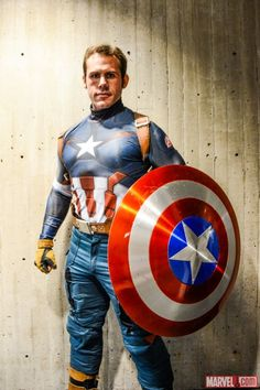 Captain America Cosplay at NYCC 2014