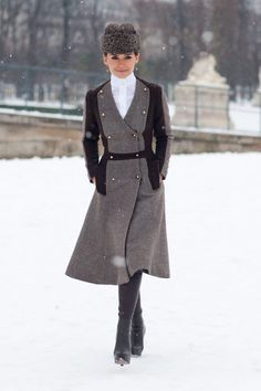 7 Times Miroslava Duma Nailed It With Her Fur Style