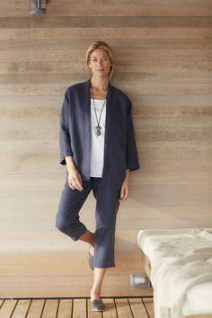 Pure Jill linen studio jacket