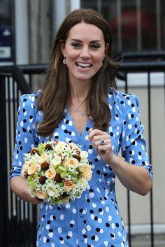 Kate Middleton Photos Photos - Catherine, Duchess of Cambridge leaves Steward's…