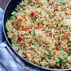 Chapati, Fried Rice, Dinner Recipes, Food And Drink, Snacks, Ethnic Recipes, Forslag, Blog, Handmade