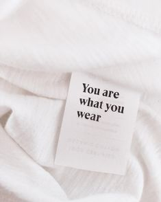 Think about it. Fast Fashion, Slow Fashion, Ethical Fashion, Label Design, Logo Design, Clothing Packaging, Fashion Packaging, Fashion Branding, Clothing Labels