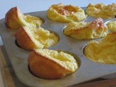 I used to make these as a kid!  (except in a pie pan, and we called them Dutch Babies instead of German Pancakes)