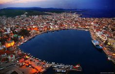 Port of Mytilene - Lesvos, Greece Greece Islands, Island Life, Continents, City Photo, Travel Destinations, Relax, Explore, Places, Water