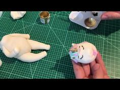 Fat Unicorn Cake! How to make fat unicorn cake topper - YouTube