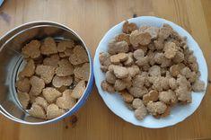 Sušenky se lněným semínkem Dog Food Recipes, Fit, Shape, Dog Recipes