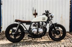 """This custom Honda is its owner Richard's personal creation. He was looking to achieve the very popular, Japanese """"brat"""" look."""