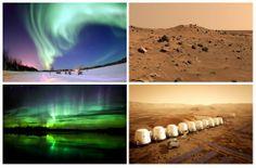 Macrotendências Etnô: A NASA planeja viajem a Marte em 2015 em um foguete russo, pretende se enviar moradores à Marte nessa viagem. Outro destino interessante em 2015 é um pacote turístico oferecido para conhecer a Aurora Boreal, o destino permite conhecer paisagens exóticas e muitas luzes na fronteira do Canadá com o Alaska.  #trendfall2015 #unatrend2015 #luzes #espaço #auroraboreal #alaska #canada #etnico #viagens #marte #nasa #destinos #sinais #macro