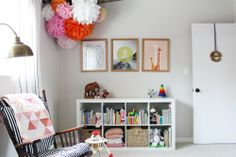 Babytour by Elise Blaha Cripe Bedroom For Girls Kids, Little Girl Rooms, Kids Room, Baby Girls, Baby Storage, Kids Decor, Home Decor, Kid Spaces, Interior And Exterior