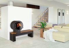 EHV® Bank - Außergewöhnlich feurig soll er sein, wärmespendend, effizient und doch ein Kaminofen.