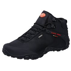 s Outdoor High-Top Oxford Water Resistant Trekking Hiking Boots online. Shop the latest collection of XIANG GUAN Men?s Outdoor High-Top Oxford Water Resistant Trekking Hiking Boots from the popular stores - all in one Mens Shoes Sale, Men S Shoes, Mens Boots Fashion, Sneakers Fashion, Mens Waterproof Hiking Boots, Men Hiking, Hiking Gear, Best Hiking Shoes, Boots Store