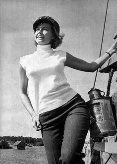 När jag var liten tyckte jag Malin från Saltkråkan var vackrast i världen. Och nästan fortfarande faktiskt..