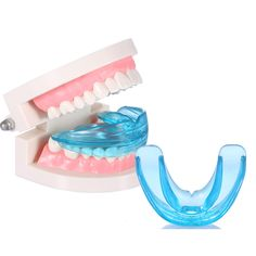 Dental Tooth Teeth Orthodontic Appliance Trainer Alignment Braces Mouthpieces #Unbranded