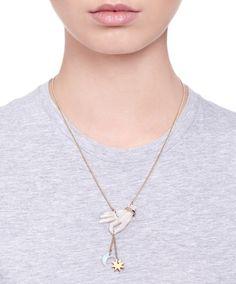 Libra Hand Birthday Necklace