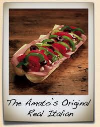 Amato's Italian sandwich
