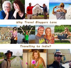 Travel bloggers from different parts of the world love to travelling in India. Let's share the things which inspire ‪#‎travelbloggers‬ to pick out a pen to describe the richness of ‪#India‬.