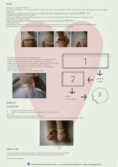 AmigurumiAmo: Tilda amigurumi free pattern part 2