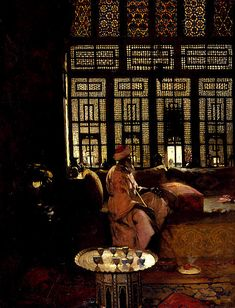 An Arab Interior, by Arthur Melville