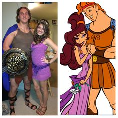 Couples Halloween costume (: Disney Hercules and meg!! YES! future husband, whoever you are, we're doing this.