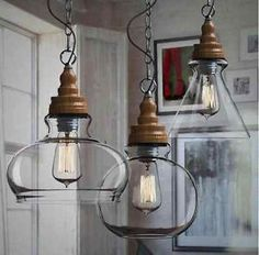 diy ceiling pendant light - Google Search