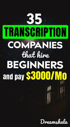 Are you searching for an online job? Do you have good listening and typing skills? Then check these 35 companies that offering online transcription jobs. Earn Money From Home, Earn Money Online, Make Money Blogging, Way To Make Money, Saving Money, Legit Work From Home, Work From Home Jobs, Typing Skills, Work From Home Opportunities