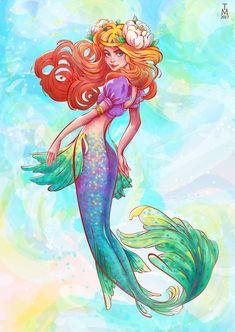 Mermaid Ariel by tashamille Mermaid Cove, Ariel Mermaid, Mermaid Fairy, Mermaid Beach, Ariel The Little Mermaid, Fantasy Mermaids, Mermaids And Mermen, Mermaid Pictures, Mermaid Images