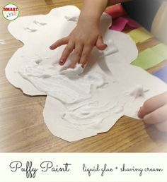 Puffy paint...always a favorite!