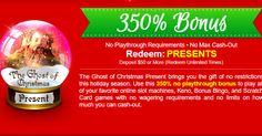 Prism Casino - The Ghost of Christmas Presents New Bonus Codes