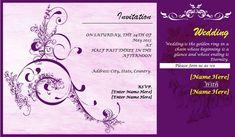 10 Wedding Card Template Word Excel Pdf Templates Invitation Card Sample Marriage Invitation Card Invitation Card Format