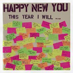 The ideeli employee resolution board!! What are your 2013 resolutions??