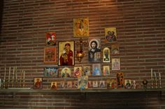 home altar / bright corner