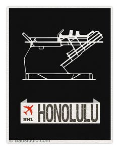 Fly me to Honolulu HNL International Airport Code by PineShore