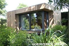 contemporary Garden room Garden Offices, Garden Rooms and Timber Garden Office Buildings Garden In The Woods, Home And Garden, Posh Sheds, Contemporary Garden Rooms, Scandinavian Garden, Scandinavian Interiors, Garden Pods, Modern Shed, Garden Buildings