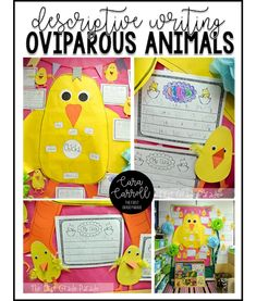 Oviparous animal des