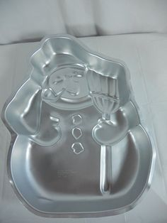Wilton Snowman with Broom and Pipe Christmas Holiday Cake Pan (502-1646, 1980) *** Save this wonderfull product : Baking pans
