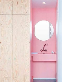 Modern. Pink.