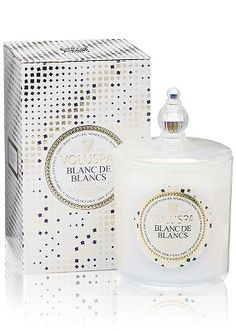 Voluspa Blanc de Blancs 100 Hour Christmas Candle
