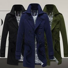Slim Fit Belted Wool Coat http://www.sneakoutfitters.com/Fall-2013-Collection/Slim-Fit-Belted-Wool-Coat-p4425.html