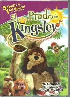 LIBROS DVDS CD-ROMS ENCICLOPEDIAS EDUCACIÓN PREESCOLAR PRIMARIA SECUNDARIA PREPARATORIA PROFESIONAL: DVDS . EL PRADO DE KINGSLEY (APRENDER VALORES Yy V...