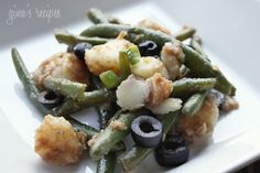 Potato and Green Bean Salad - This is my new favorite potato salad. Extra olive oil and good balsamic vinegar really makes a difference in the taste.