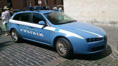 Alfa Romeo 159 Polizia Rome 2015