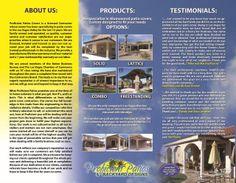 Brochure Design For Proficient Patios Las Vegas