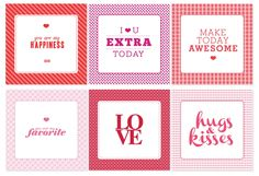 sweet for lunch boxes printables