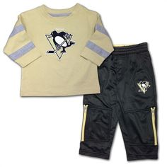 Pittsburgh Penguins Long Sleeved Tee  amp  Pants Set  Pittsburgh  penguins   baby  . babyfans 0b1fa1112