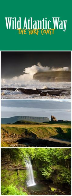 Wave-riding thrill-seekers and sensitive souls alike lose their hearts to the Surf Coast, where pounding waves and poetic silence exist side by side. From Mullaghmore and Downpatrick Head to Yeats Country and beyond, prepare to be inspired.